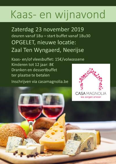 affiche kaas en wijn 2019